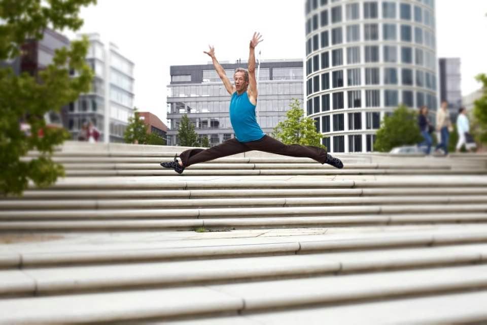 Saba Pedük Dance and Jump Fotoshootin Hafencity Hamburg